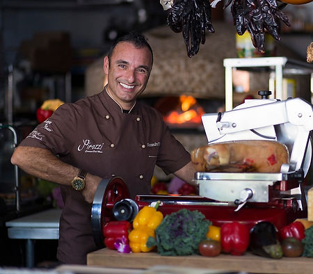 Chef Alessandro Pirozzi is the owner of Alessa and Salerno in Laguna Beach