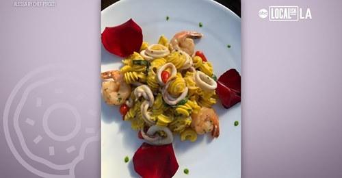 ABC7 Localish LA Spotlights Alessa's Limoncello Pasta