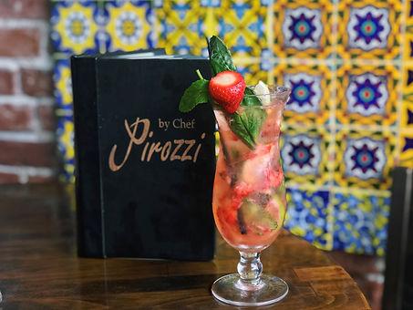 Chef Pirozzi makes refreshing cocktails in Laguna Beach