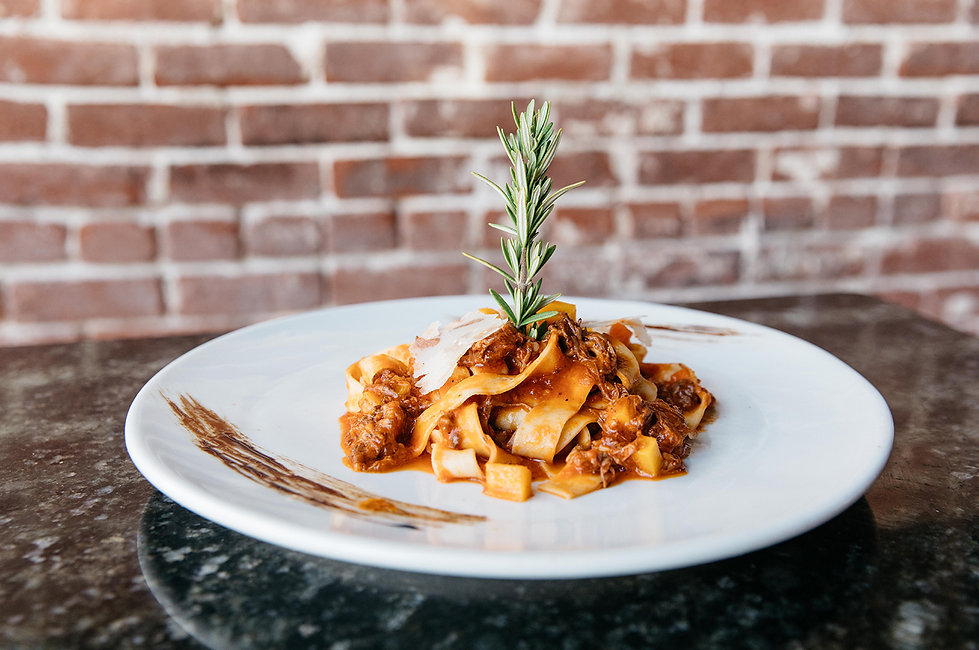 Chef Alessandro Pirozzi makes delicious Italian pasta at Alessa in Laguna Beach