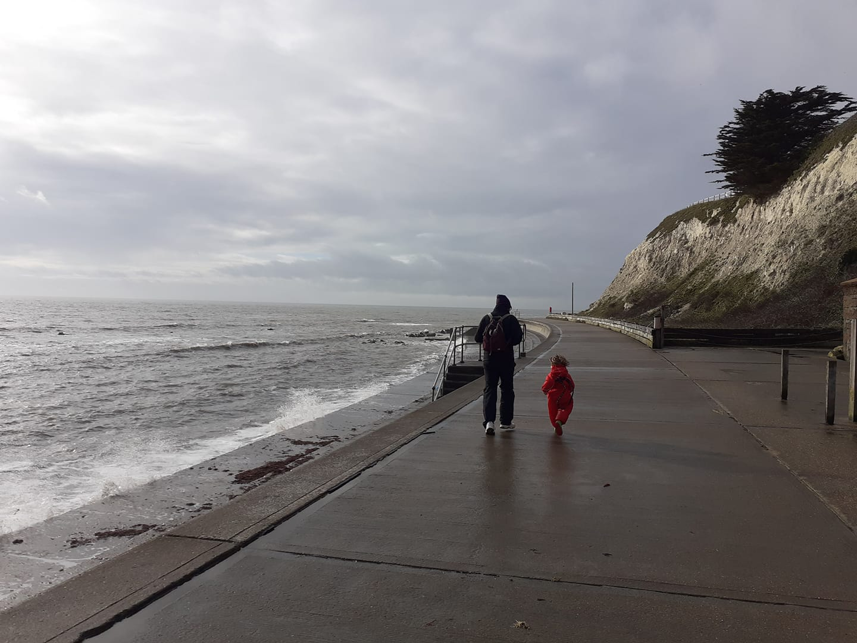 Steps Feb sea front