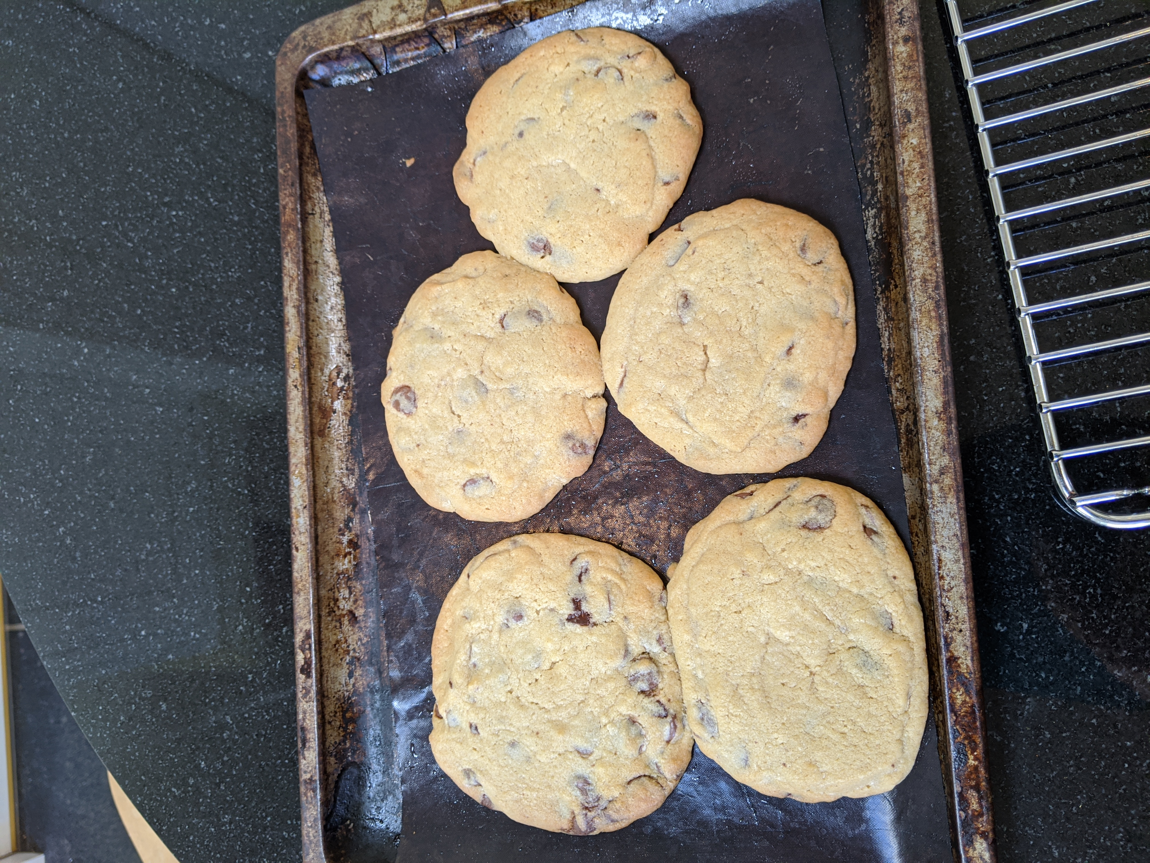 Catherine's choc chip cookies
