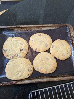 Catherine's choc chip cookies