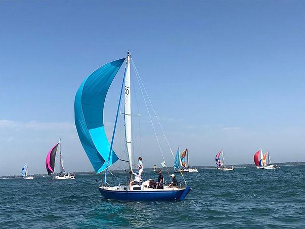 Susannah & Didi in Seahorse sailing 1.jp