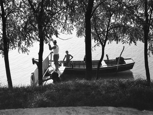 Gita estiva in barca