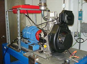 20 HP Engine Dynamometer at ESW America