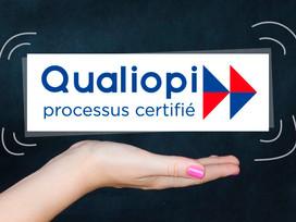 Notre centre de formation, certifié Qualiopi.