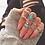 Thumbnail: Vintage Women Crystal Finger Knuckle Rings Set for Girls Moon Lotus Charm