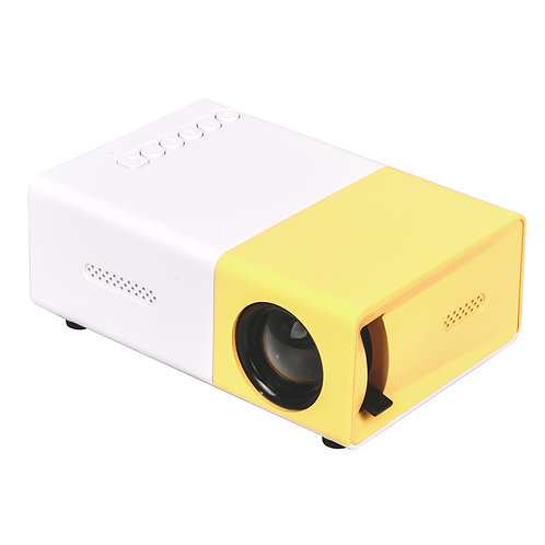 Salange YG300 Projector 800 Lumens Portable Mini Projector for Kids Pocket Home