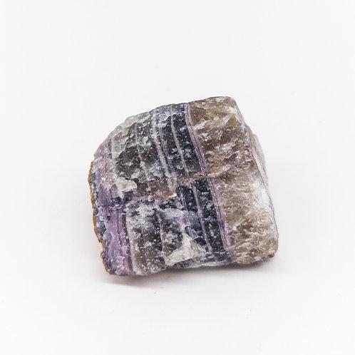 Purple Fluorite Natural Stone