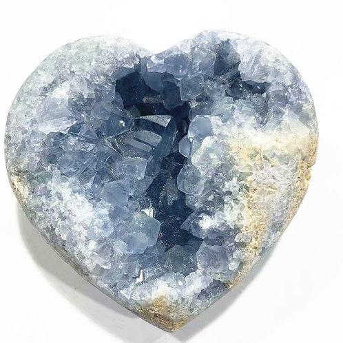 Natural Spiritual Energy Crystal Cluster Blue Celestite for Feng Shui Healing