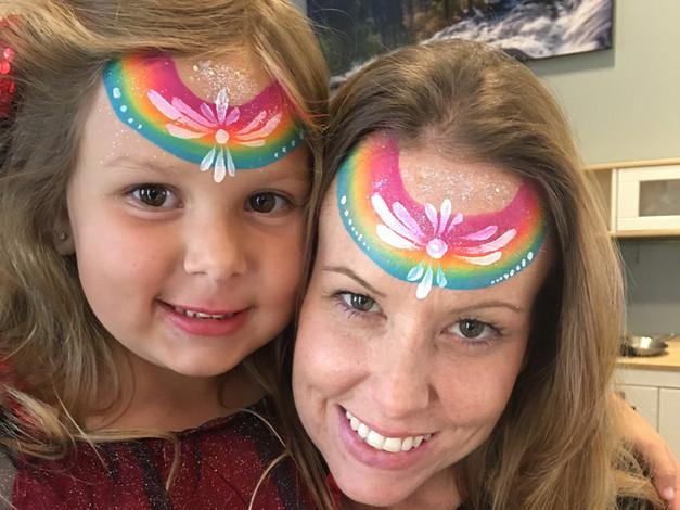 rainbow Mother Daughter Los Gatos