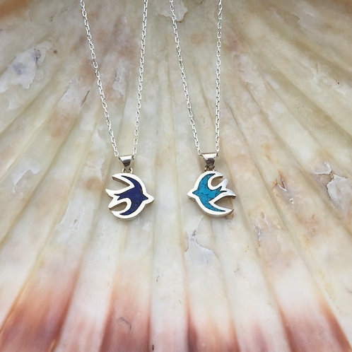 Swallow Necklace 925 Sterling Silver