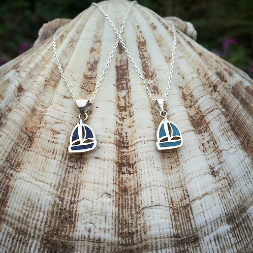 Sail Necklace 925 Sterling Silver