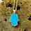 Thumbnail: Hamsa Necklace 925 Sterling Silver