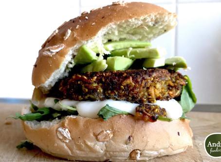 Andrea Foodcoach recept: wortel linzen burgers