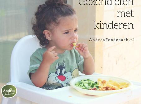 7 tips om kinderen gezonder te laten eten