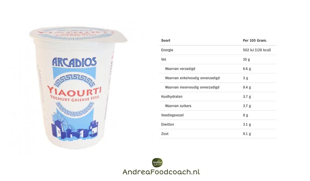 Griekse stijl yoghurt 10% vet