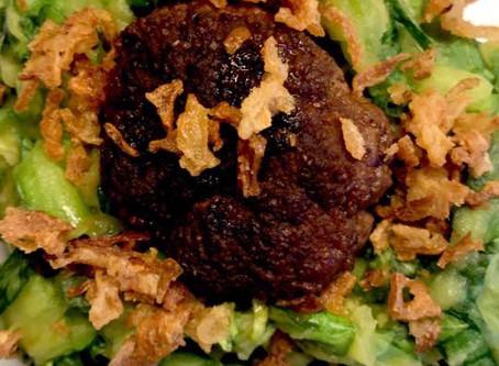 Andrea Foodcoach recept: Andijvie stamp met een Indische twist