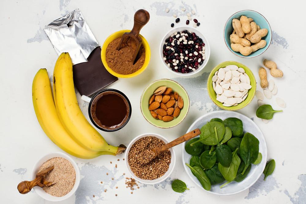 Bronnen van magnesium in voeding