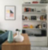 Living room interior design by Helo Interiors
