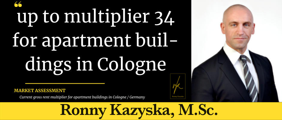 Top multiplier 34 for apartment buildings in Cologne
