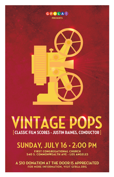 Gay Freedom Band of Los Angeles: Vintage Pops