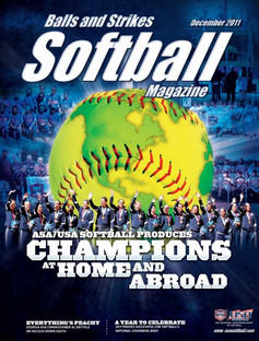 USA Softball Magazine Cover