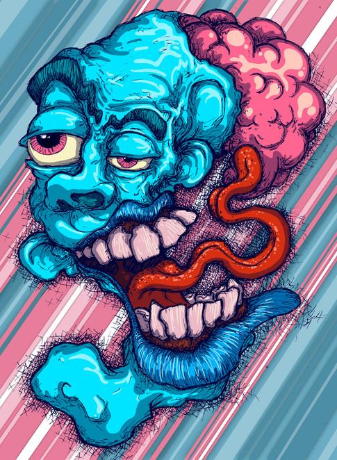 Taste of brain