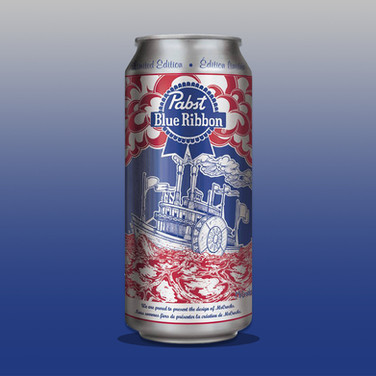 PABST CAN DESIGN