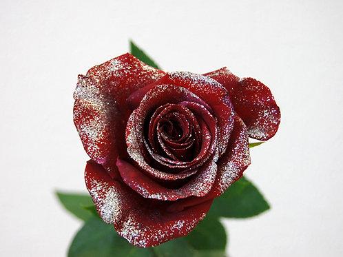 ROSE ROUGE ARGENT