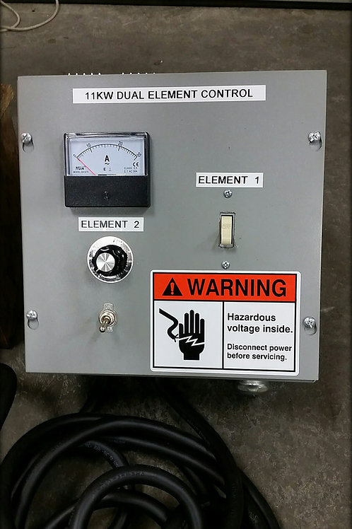 DUAL ELEMENT Heater Controller - With Elements and Element Guard