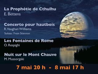 """Création """" LA PROPHETIE DE CTHULHU"""""""