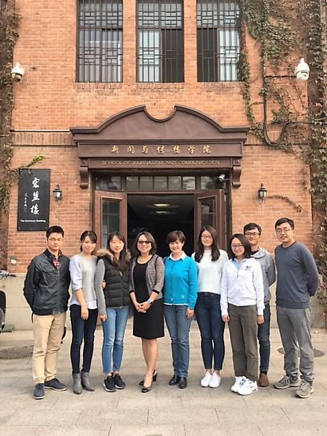 The fine graduate students at Tsinghua University