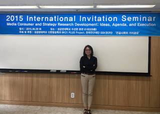 Visits to SKK, Kyunghee, and KAIST in Seoul
