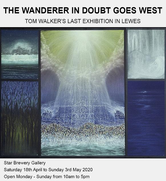 Tom Walker - Glimpses 10 - pastel 80x70.