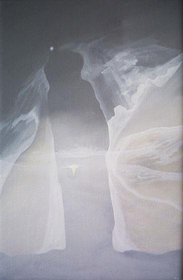 1. Angel 1980  acrylic on canvas - 70x40