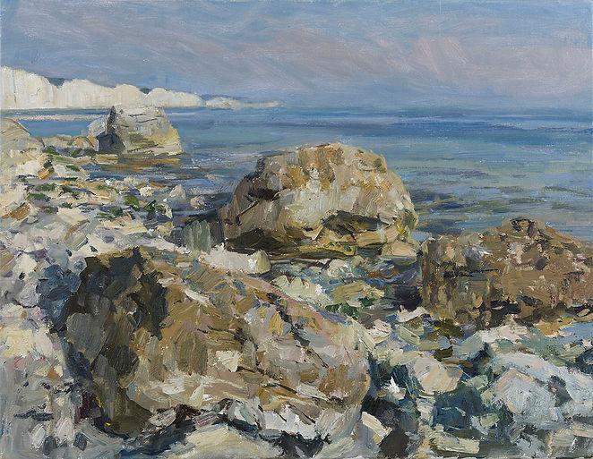 Tom Benjamin 1264 Rocks and Cliffs, July