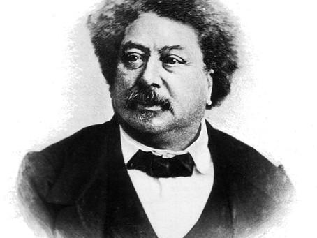 """""""Um por todos e todos por um"""": A história do escritor negro, Alexandre Dumas."""