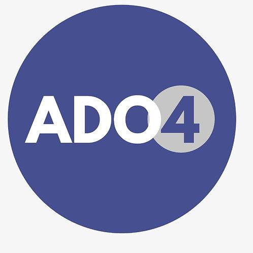 ADO 4 - AF: Seg e Qua, 16h às 17h15min (Início das aulas: 23/08/2021)