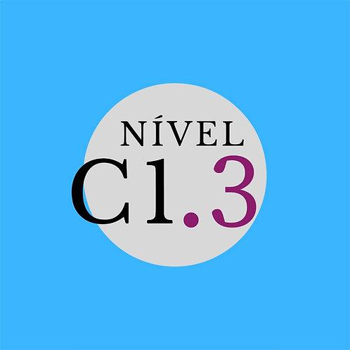 Curso Regular C1.3 - Segunda, 18:30 - 21h30 ( Início 01/03/21)