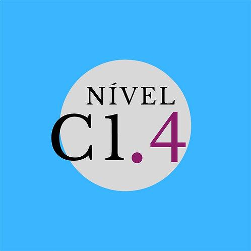 Curso Regular C1.4 - Sexta, 16:00 - 19h00 ( Início 26/03/21)