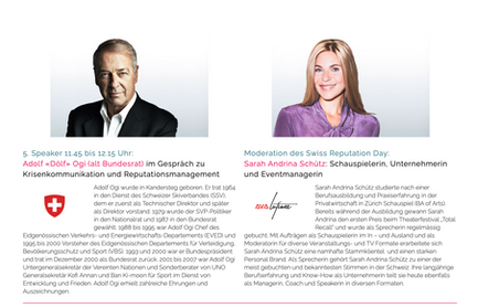 1. Swiss Reputation Day 2021