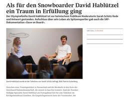 Sporttalk David Hablützel