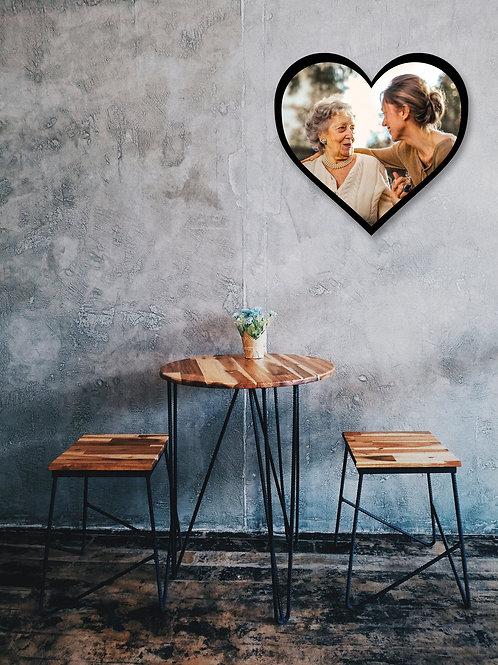Heart Wood Canvas