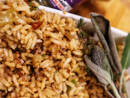 Vegan Cajun Dirty Rice