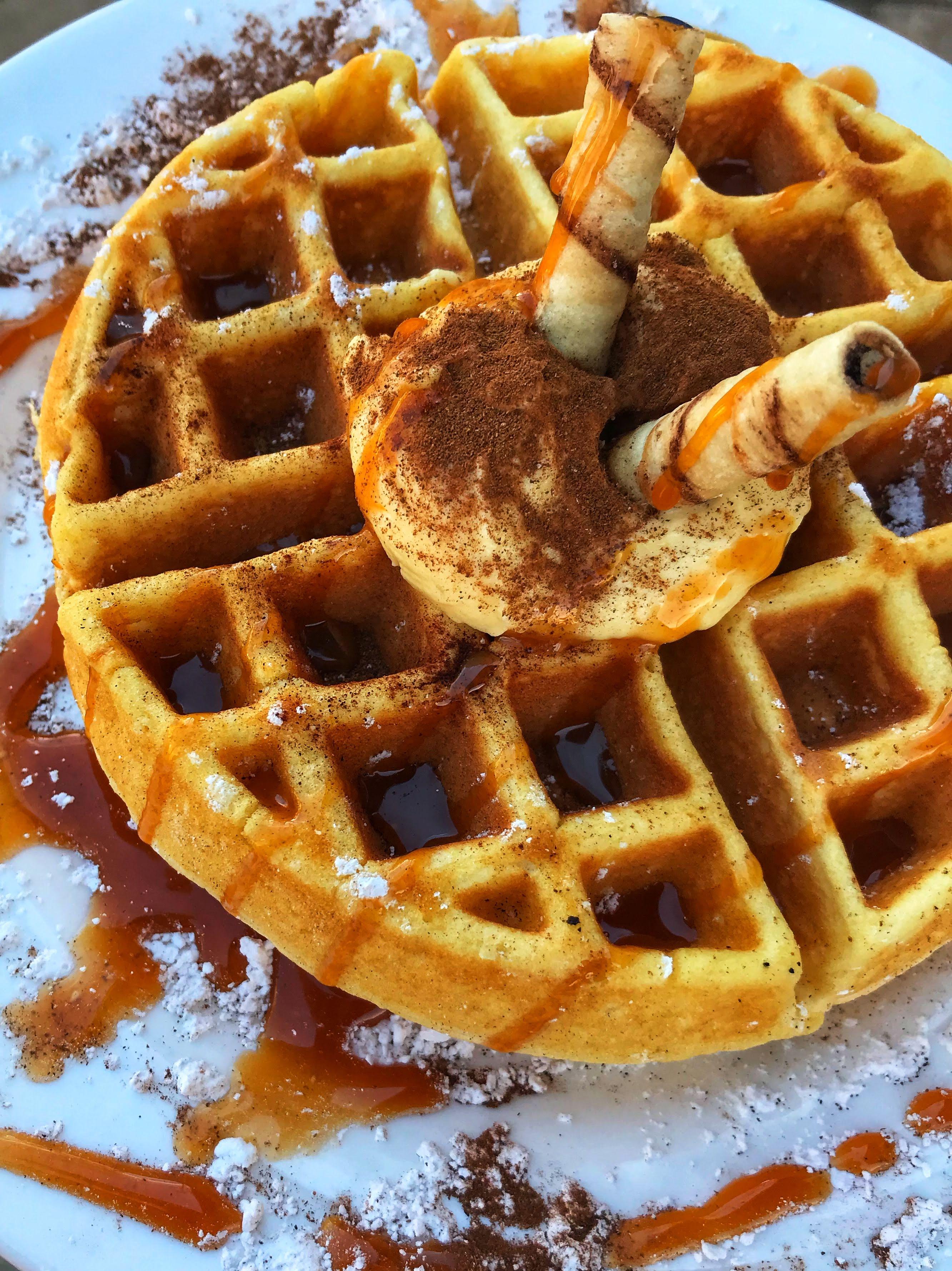 Tres Leche Waffle