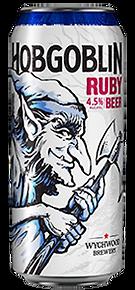 HOBGOBLIN LEGENDARY RUBY BEER