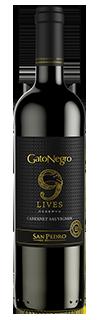 GATO NEGRO 9 LIVES RESERVA CAB. SAUVIGNON