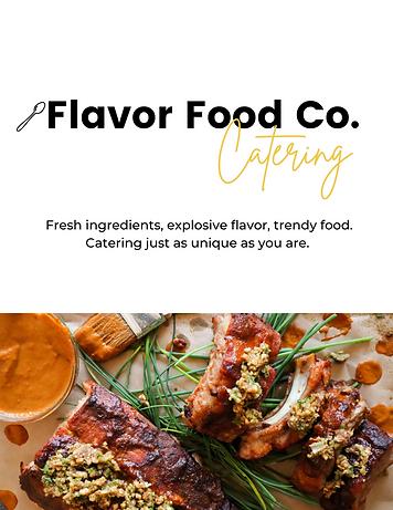 Flavor Food Co. Catering Menu .png